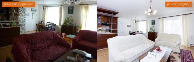 Prodej bytu postup home staging