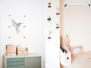 Zapomeňte na hřebíky: ozdobte si zdi s washi páskami